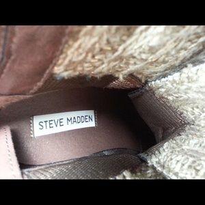 Steve Madden J Sweater Boots